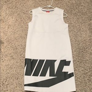"NIKE White & Black ""Athleisure"" Dress"